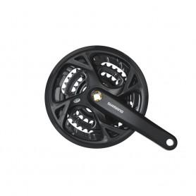 Shimano Crankset Trekking FC-M371 9-speed, 44-32-22 teeth, 175 mm, black