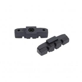 2x Point Magura Bremsbeläge Bremsschuhe passend für HS 33 22 11 schwarz