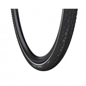 Vredestein PERFECT 4 SEASONS E-25 bicycle tyre MAX PROT 37-622 wired reflective strips black