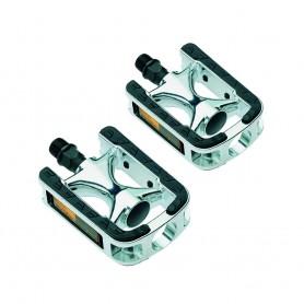 Pedale City / Comfort pedals silver black