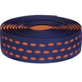 Handlebar Tape Velox Bi-Color Box with plugs, black/brown