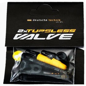 Tubeless Valve S42 black, pair