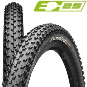 Continental 55-622 Cross King 2.2 TL-Ready E-25 Foldable black ProTection