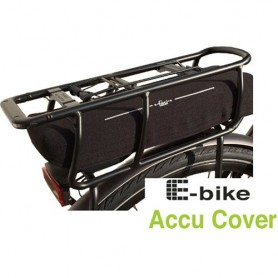 Battery Protective Cover Fasi, Luggage Rack, black
