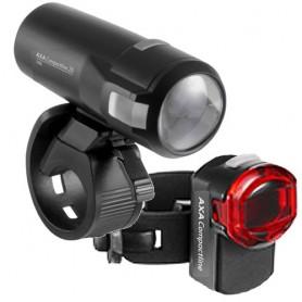 Axa Scheinwerfer Compactline Set, LED, 20 Lux, StVZO zugelassen