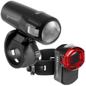Axa Scheinwerfer Compactline Set, LED, 35 Lux, StVZO zugelassen