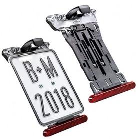 License plate holder B+M, E-Bike