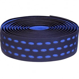 Handlebar Tape Velox Bi-Color Box with plugs, black/blue