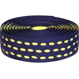 Handlebar Tape Velox Bi-Color Box with plugs, black/yellow