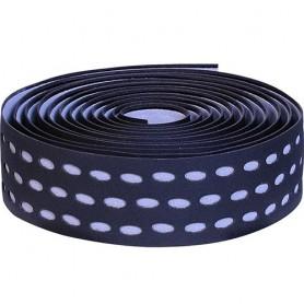 Handlebar Tape Velox Bi-Color Box with plugs, black/grey