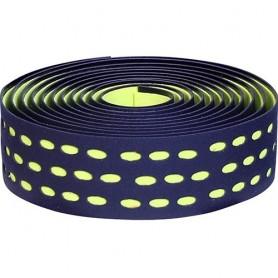 Handlebar Tape Velox Bi-Color Box with plugs, black/bright green