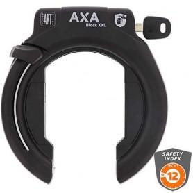 AXA Block XXL Retractable Rahmenschloss schwarz