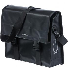 Shoulderbag URBAN LOAD MESSENGER BAG 17 l Basil, black
