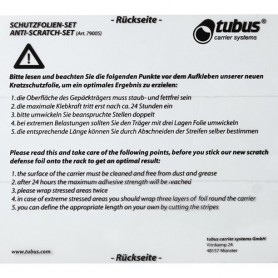 Anti-Scratch-Set Racktime transparent