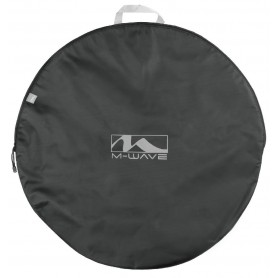 M-WAVE, Wheel bag, for 26 - 29 inch wheels, padded with inside pocket for Quick release with Hub protection disc