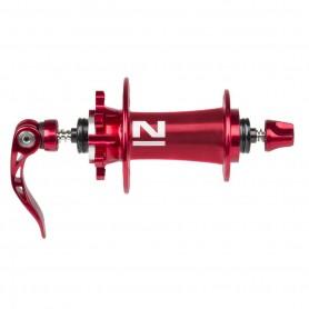 Novatec, Naben, MTB Disc Superlight Vorderrad, 3in1, D791SB/A, 32-Loch, rot eloxiert, mit Schnellspanner, Einbaubreite 100 mm, A
