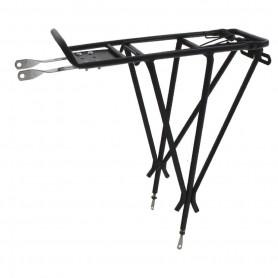 "O-Stand Pannier rack ""ADJUST III"", Alu, for 26 inch-29 inch adjustable"