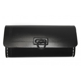 Anhängetasche,  schwarz 25 PLR , Kunstleder  verpackt
