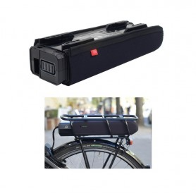 Fahrer Battery protection E-Bike for Shimano Steps E6000 Pannier rack battery