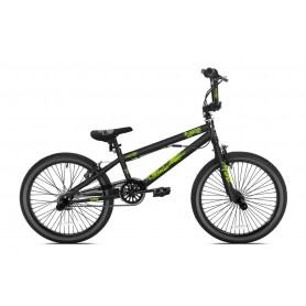 BMX Madd Freestyle 20 inch MGP matt black green
