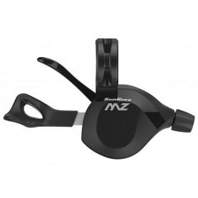 SunRace Schalthebel DLMZ3NX, 12-fach, rechts, schwarz