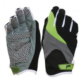 F-Lite Handschuhe Zenmaster Fullfinger Größe L schwarz grün