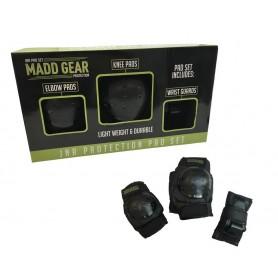 Madd Gear Protektorenset schwarz Größe S Junior