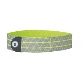 Wowow reflective tape Ryu per pair yellow with Velcro® 37x2,5 cm