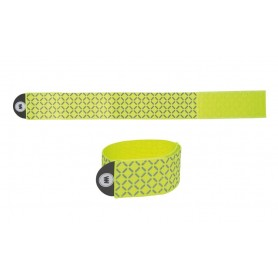 Wowow reflective tape yellow reflecting ca 15x95 cm, with Velcro®