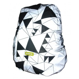 Wowow Backpack cover Urban silver