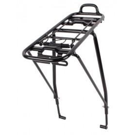 System pannier rack Atranvelo City DB black 24 - 29 inch Alu, incl. AVS System