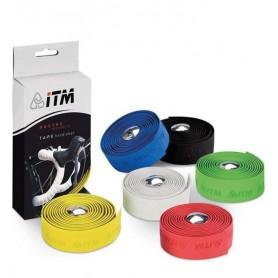 ITM Handlebar tape cork red