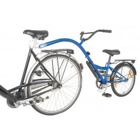 "Kinderrad-Nachläufer terra bikes Trailer 20"" blau RH 28cm"