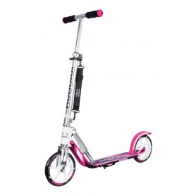 Hudora City Scooter Big Wheel Alu 8 Zoll 205 GC pink weiß
