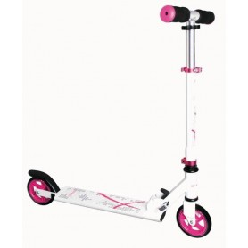 Muuwmi Scooter ST Aluminium 5 inch 347 125mm white pink