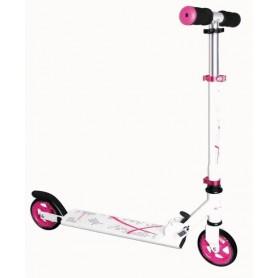 Muuwmi Scooter ST Aluminium 5 Zoll 347 125mm weiß pink
