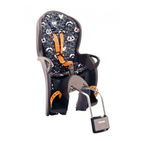 Hamax Child's seat Kiss with Muster mount Frame tube grey orange