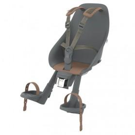 Urban Iki Child's seat front head tube mount bincho black kurumi brown