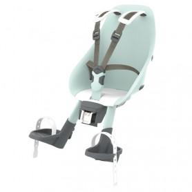 Urban Iki Child's seat front head tube mount aotake mint blue shinju white