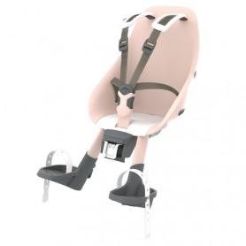Urban Iki Child's seat front head tube mount sakura pink shinju white