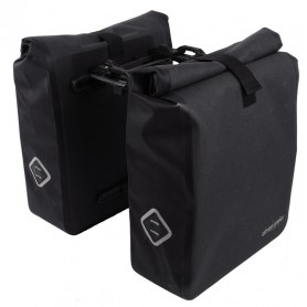 System Double pannier Atranvelo Travel 37x33x42cm, black incl. AVS adapter
