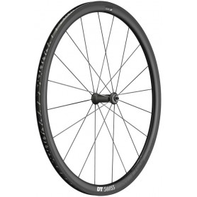 DT Swiss PRC1400 Front wheel 622-18 20L Spline 35 Carbon black100/5mm