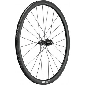 DT Swiss PRC1400 Rear wheel 622-25 24 hole Spline 35 Carbon black130/5mm QR Shimano