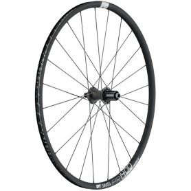 DT Swiss PR1400 Laufrad HR 622-18 24L Dicut DB 21 Alu graphite CL 142/12mm