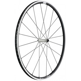 DT Swiss PR1600 Front wheel 622-23 20L Spline 23 Alu black white 100/5mm QR