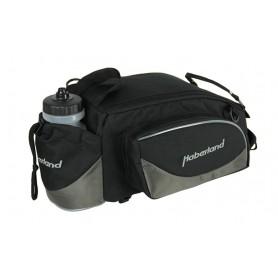 Haberland Pannier rack bag Flexibag L 39x16x25cm, 16ltr, Uniclip black grey