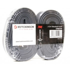 "Schlauch Hutchinson 28"" 2er Pack 700x20-25  SV 48 mm"