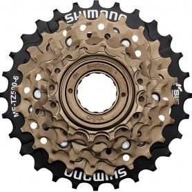 Shimano Freewheel cogset MFTZ500 6-speed 14-28 teeth