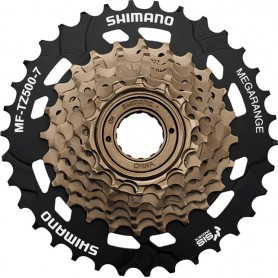 Shimano Freewheel cogset MFTZ500 7-speed 14--34 teeth
