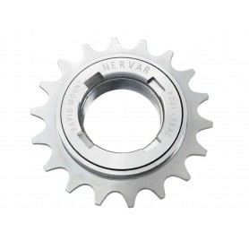 Freewheel sprocket 1/2X1/8 1-speed 16 teeth chromed